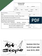 ArtScope 2019 Brochure