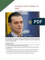 Lovitură Dură Pentru Ludovic Orban. Ce a Hotărât Instanța