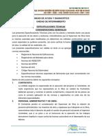 Especificaciones Tecnicas Pabellon c y d