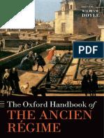 [Oxford Handbooks] DOYLE. William. the Oxford Handbook of the Ancien Régime