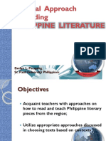 A.1.0 Regional Approach to Reading Philippine Literature