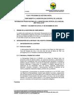 Plan de Auditoria La Molina Lima Peru