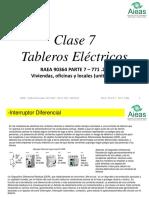 Clase 7 - Tableros Eléctricos - 2019