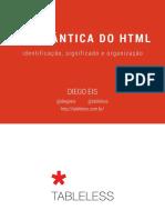 A Verdadeira Semântica Do HTML