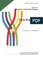Cartas Descriptivas Módulo II