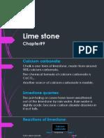 Chapter#9 (Limestone) Ppt#1