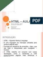 HTML Principios Básicos