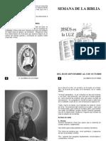 Semana de La Biblia 2015