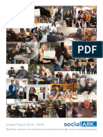 Social Ark Impact Report 2018 - 2019