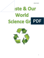 waste   our world unit plan - gr 4