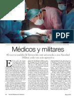 Médicos y militares