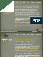 El Grito Manso - Freire Paulo