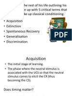 steps 4 classical conditioning mindless mechanisms