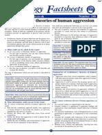 Human Aggresion