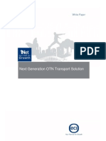 Next Generation OTN Transport Solution