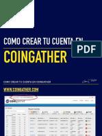 Como crear tu cuenta en CoinGather