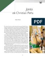 Cristian Peña, Janto
