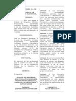 F  Decreto 111-96 (Arancel)