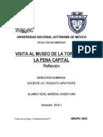 Reseña de visita al Museo de La Tortura.