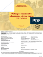 Obitos Suicidio Adolescentes Negros 2012 2016