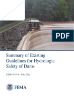 FEMA Dam Safety Guidelines