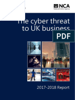 NCA Cyber Threat to UK BUsiness
