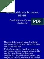 Fuentes Del Derecho de Los DDHH (1)