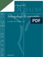 Brancaccio - Antropologia di comunione. L'attualità della Gaudium et Spes