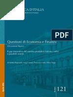 Il Gap Innovativo Del Sistema Produttivo Italiano, Radici e Possibili Rimedi