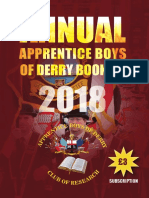 Annual Apprentice Boys Booklet 2018