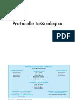 protocollo tossicologico