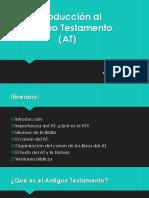 Introduccion Antiguo Testamento I