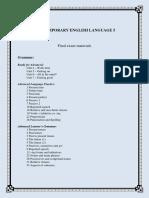 CEL 5 - Final Exam Materials