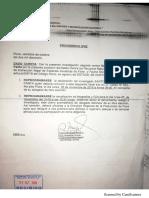 FEMA de Piura reprograma diligencias para el 5 de noviembre