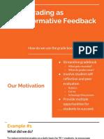 grading as formative feedback