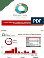 Informe sobre esquemas salariales Ministerio de Educación