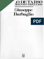 Barbaglio Pablo de Tarso y Los Origenes Cristianos.pdf