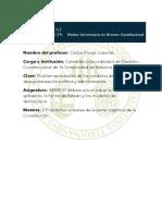 MUDR Material Docente Carlos Flores Juberías  - El debate actual sobre la forma de gobierno, la forma de Estado y los modelos de democracia
