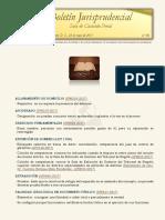 Boletín Jurisprudencial 2017-05-25