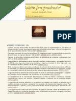 Boletín Jurisprudencial 2017-08-02