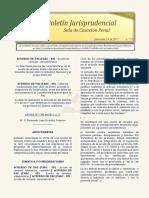 Boletín Jurisprudencial 2017-11-24
