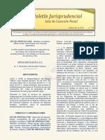 Boletín Jurisprudencial 2018-02-06