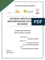 ROCA - Estudio Cinético de La Descomposición Catalítica de Ozono