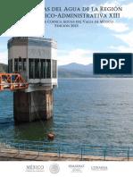 Estadisticas Del Agua de La Region Hidrologico-Administrava XIII 2013
