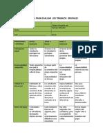 Rúbrica Para Evaluar Trabajos Grupales(1)
