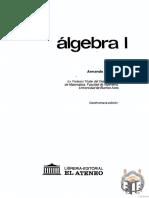 Álgebra 1, 18ª Ed - Armando Rojo