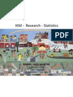 IKM Research Statistik