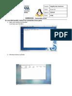 Ejercicio 01-13 TCP-IP Comandos