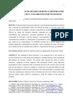 PLANEJAMENTO DE TRAJETÓRIAS ROBÓTICAS DEFINIDAS POR SEGMENTOS DE RETA CONCORDANTES POR POLINOMIAIS
