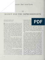 Manet and the Impressionists from Nineteenth Century Art
